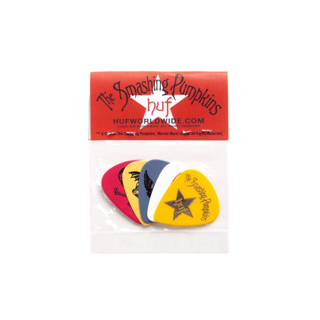 HUF X Smashing Pumpkins Spaceboy Guitar Pick Set