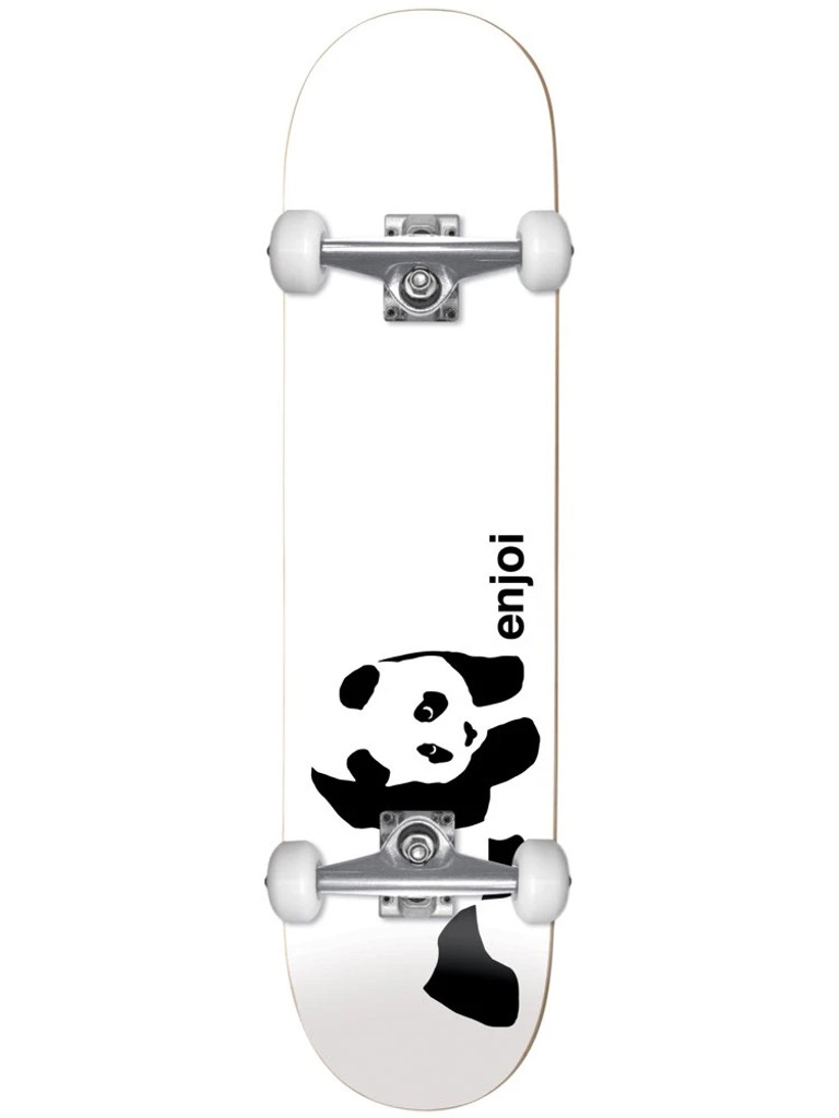 Enjoi Whitey Panda First Push Complete Skateboard 7.75""