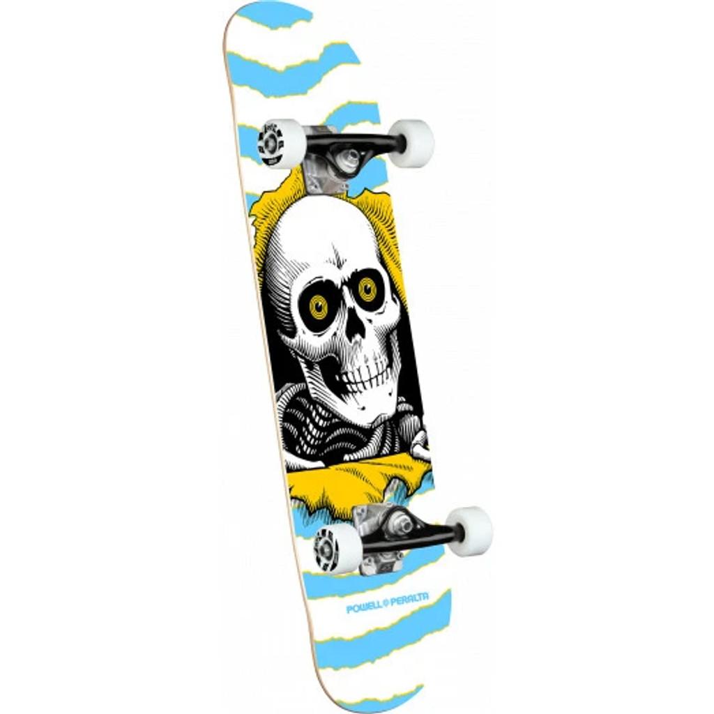"Powell Peralta Ripper One Off Light Blue Complete Skateboard 7.5"" X 30.70"""