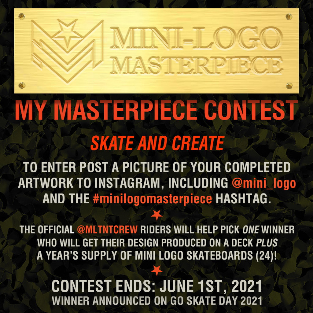 "Mini Logo Masterpiece Landscape Deck 7.75"" x 31.08"""