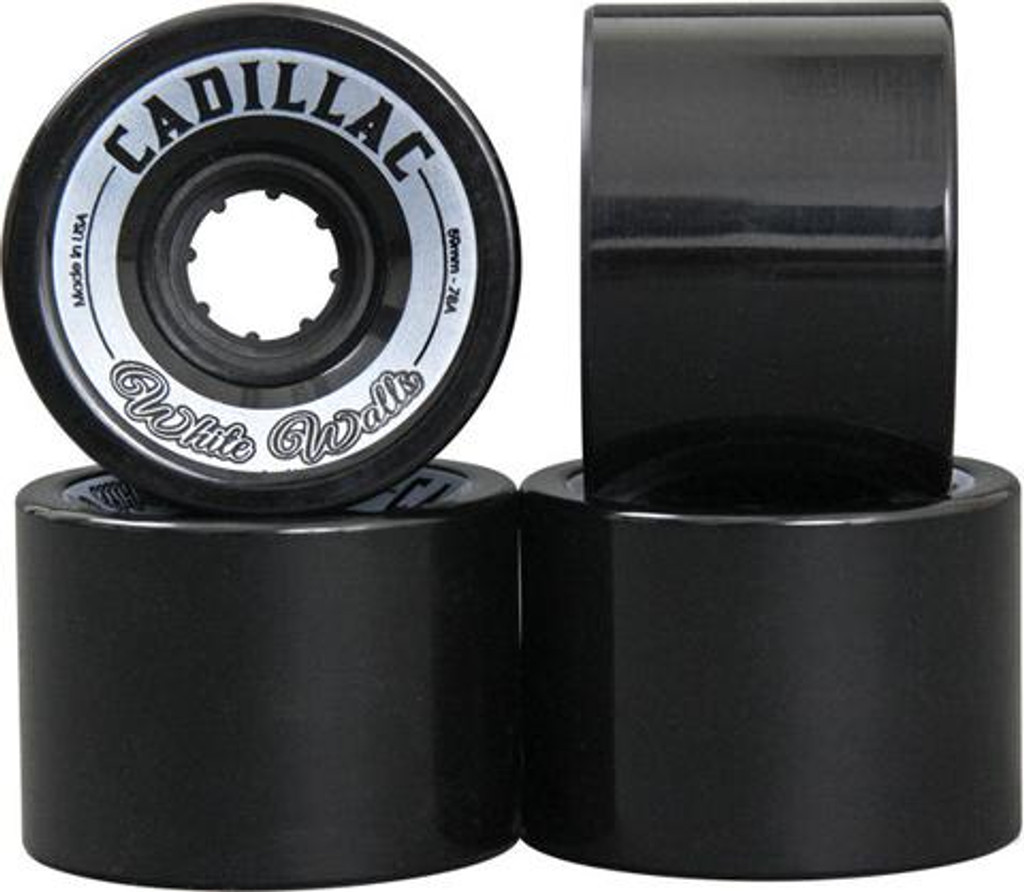 Cadillac White Walls Wheels 59mm/78a (Set of 4)
