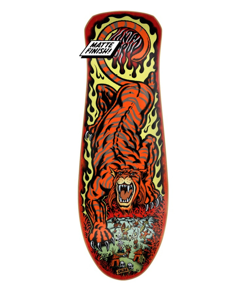 **Pre-Order** Santa Cruz Old School Salba Tiger Reissue Deck
