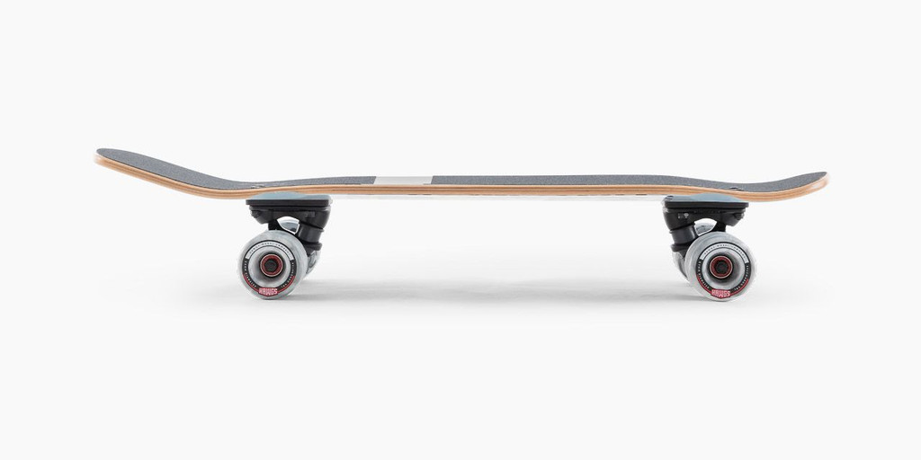 Landyachtz Dinghy Shape 9 Chartreuse Complete Skateboard FREE USA SHIPPING