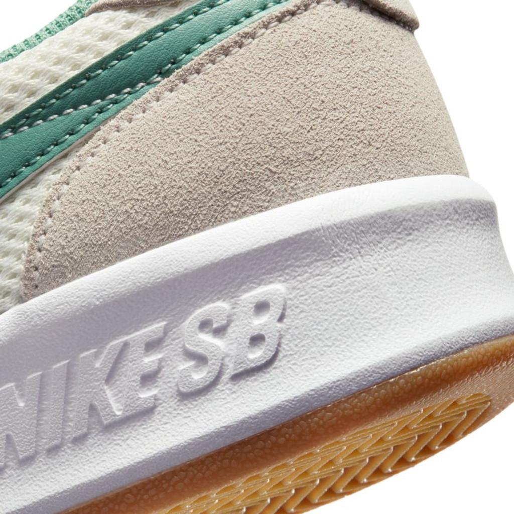 Nike SB Adversary Shoes (Sail/Healing Jade) FREE USA SHIPPING