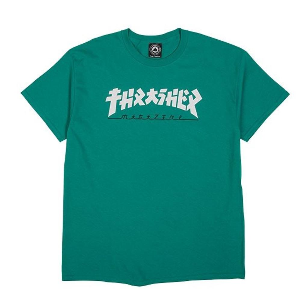 Thrasher Magazine Godzilla T-Shirt (Jade)