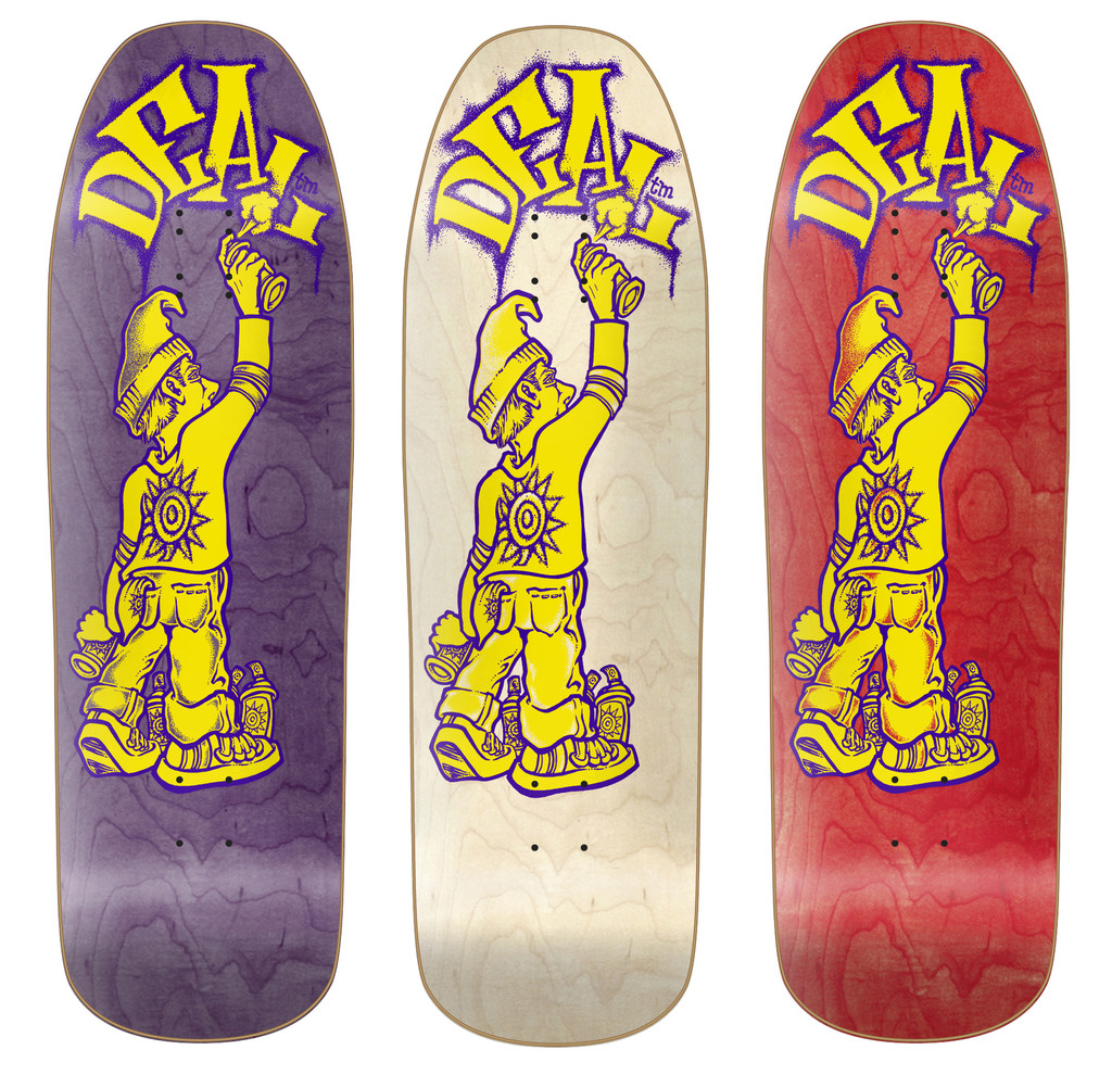"""New Deal Tagger Old School Reissue Deck 9.5"""""""