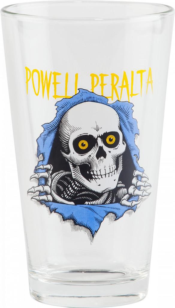"""Powell Peralta Ripper """"2"""" Pint Glass"""
