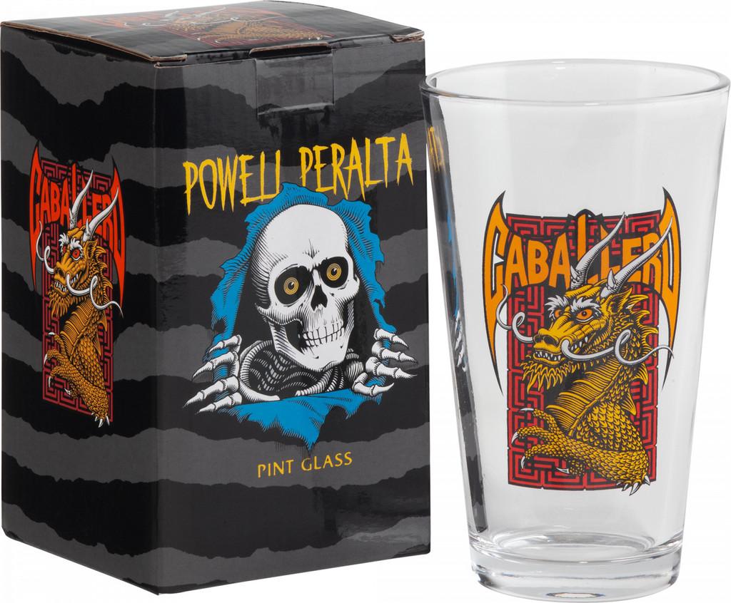 Powell Peralta Cab Street Pint Glass