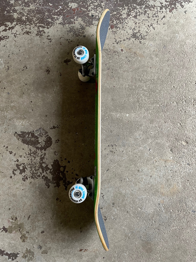 """ATM Mary Complete Skateboard 8.0"""" (Green)"""