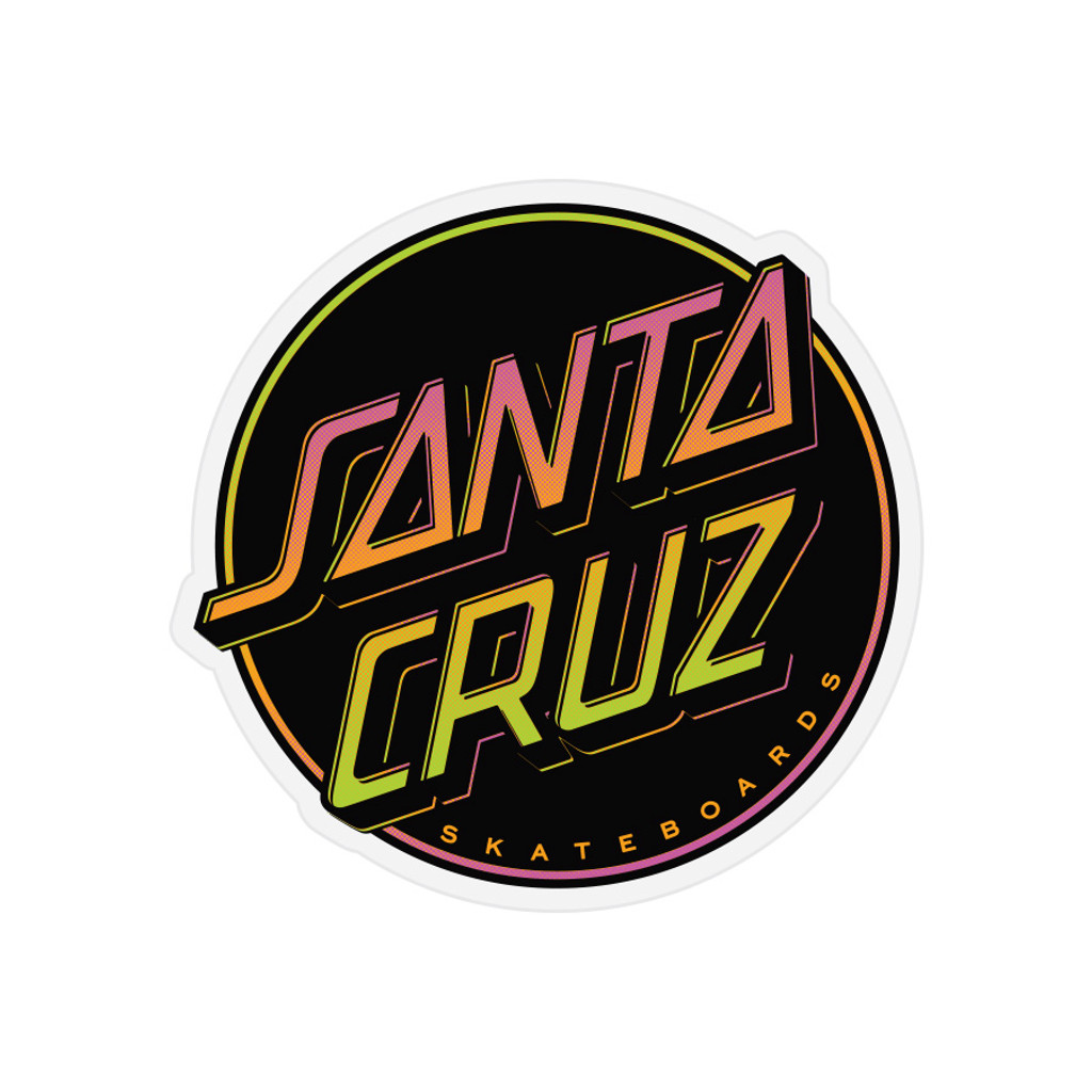 Santa Cruz Contra Dot Sticker