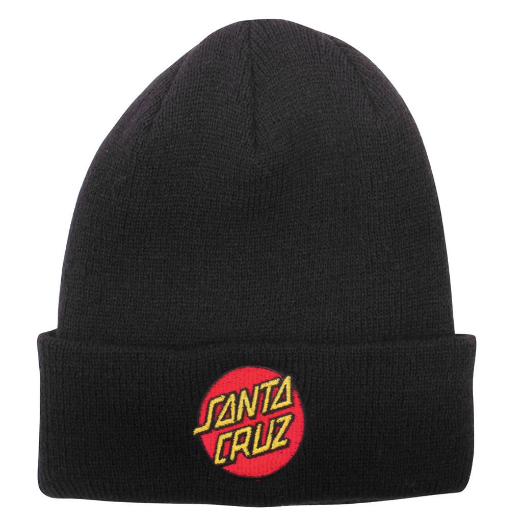 Santa Cruz Classic Dot Longshoreman Beanie (Black)