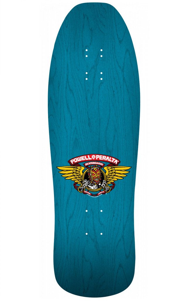 Powell Peralta Old School Nicky Guerrero Mask Reissue Deck (Blue)