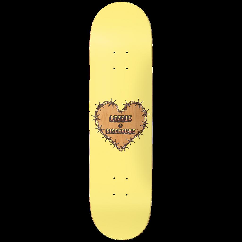 "Birdhouse Lizzie Armanto Heart Protection Deck 8.0"""