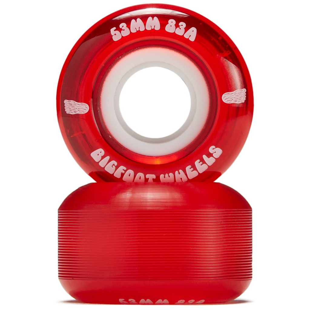 Bigfoot Wheels 53mm 83a Red (Set of 4)