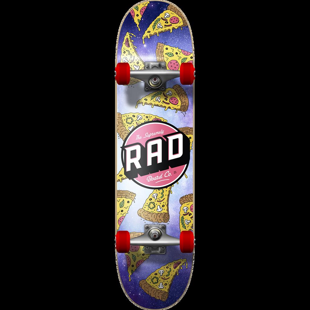 """Rad Board Co. Pizza Galaxy Complete Skateboard 7.5"""" x 31"""""""