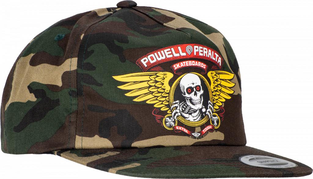 Powell Peralta Winged Ripper Snapback Hat (Camo)