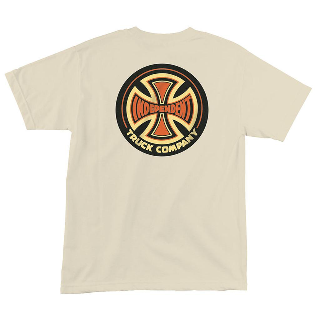 Independent Trucks 78 Cross T-Shirt (Cream)