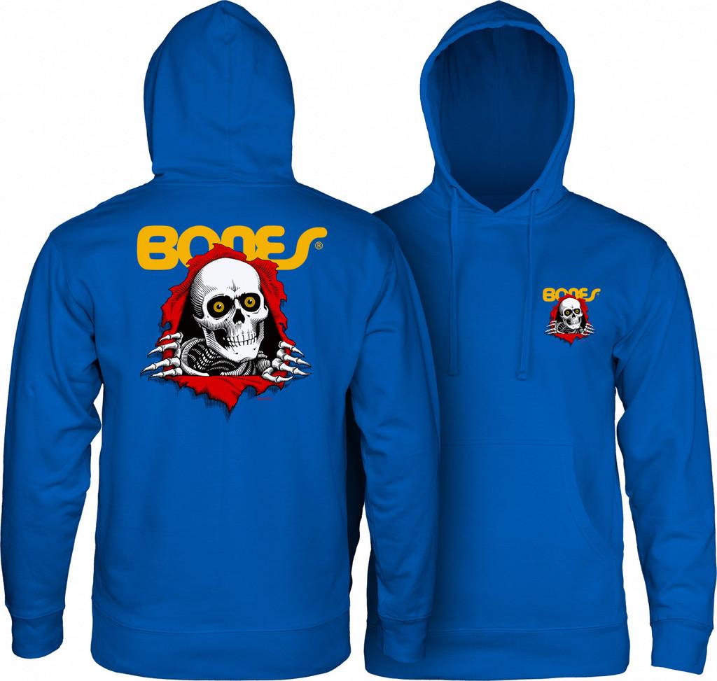 Powell Peralta Ripper Hooded Sweatshirt (Royal Blue)