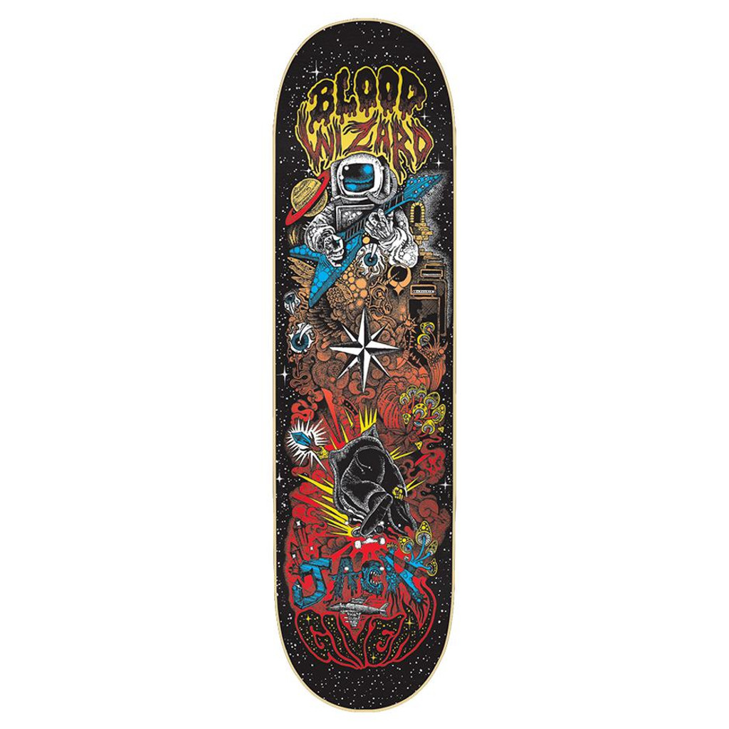 Blood Wizard Given Space Riff Deck 8.50""