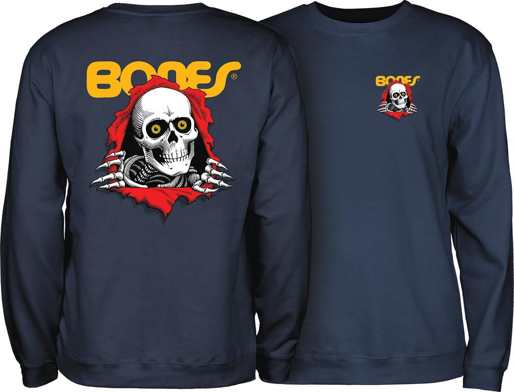 Powell Peralta Ripper Crew Sweatshirt (Navy)