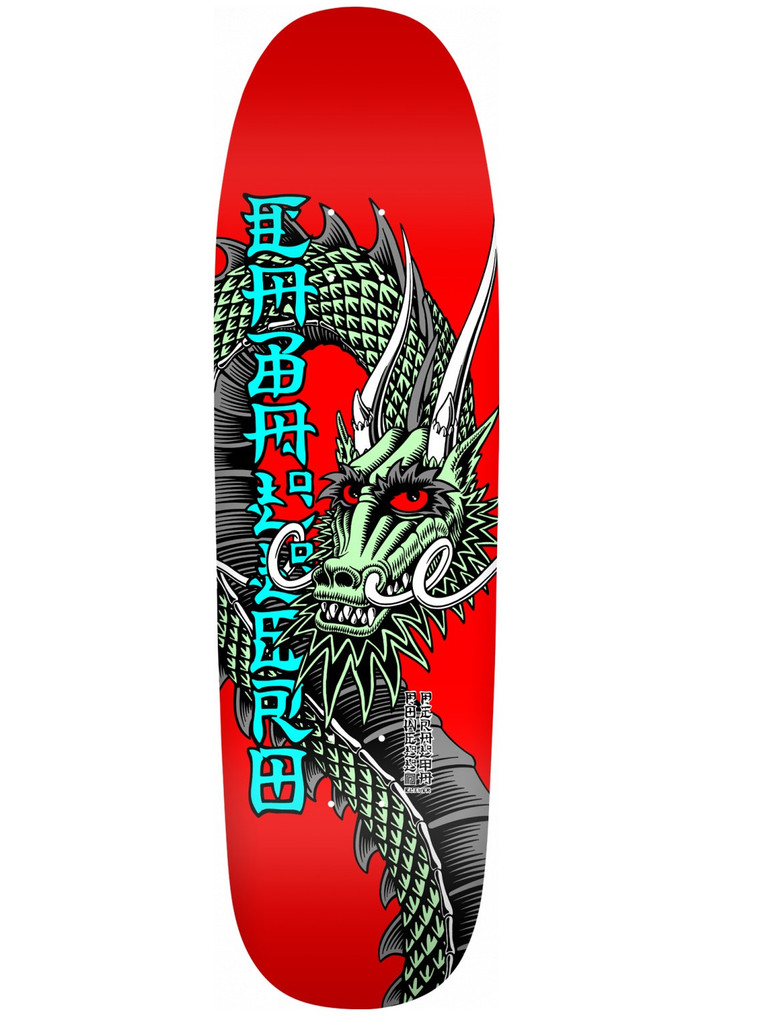 """Powell Peralta Caballero Ban This Deck 9.265"""" X 32"""" (Red)"""