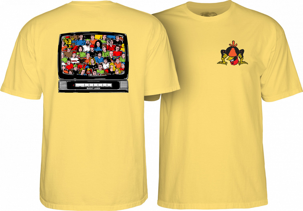 Powell Peralta Bucky Lasek Stadium T-Shirt (Available in 5 Colors)