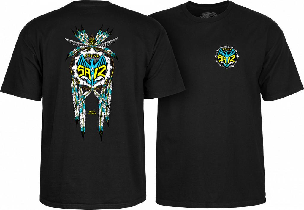 Powell Peralta Steve Saiz Totem T-Shirt (Available in 5 Colors)