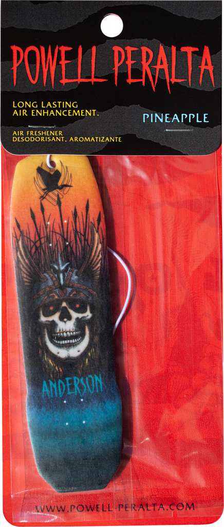 Powell Peralta Andy Anderson Deck Air Freshener Pineapple