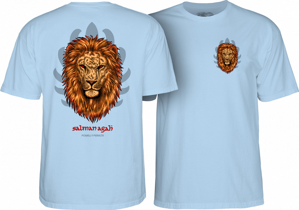 Powell Peralta Salman Agah Lion T-Shirt (Available in 2 Colors)
