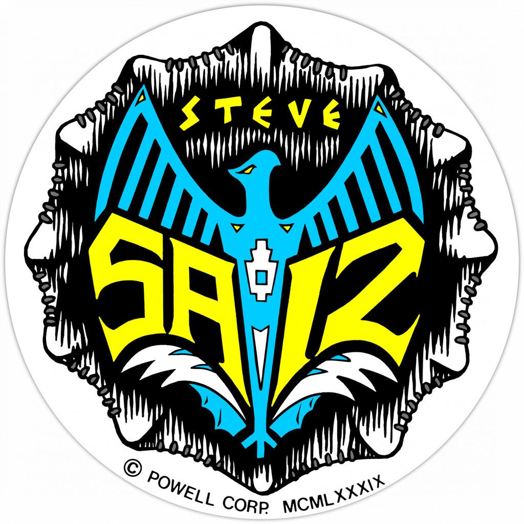 Powell Peralta Steve Saiz Totem Sticker