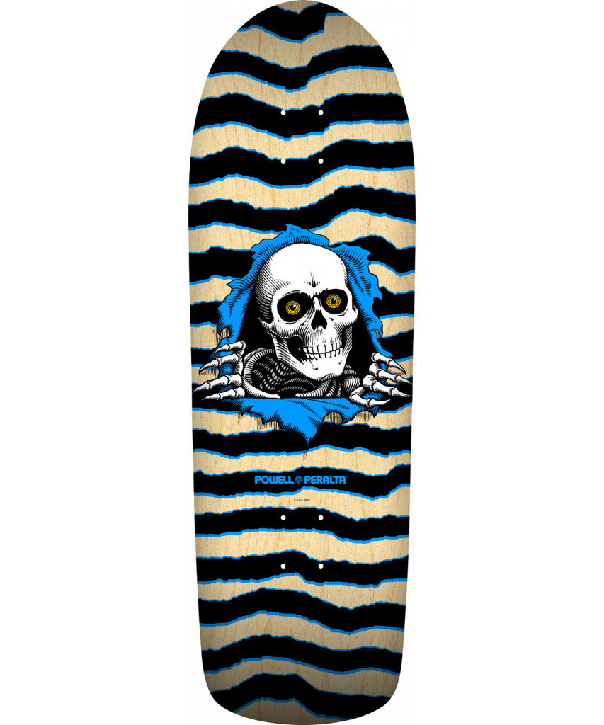 **Pre-Order** Powell Peralta Old School Ripper Re-Issue Deck (Natural)
