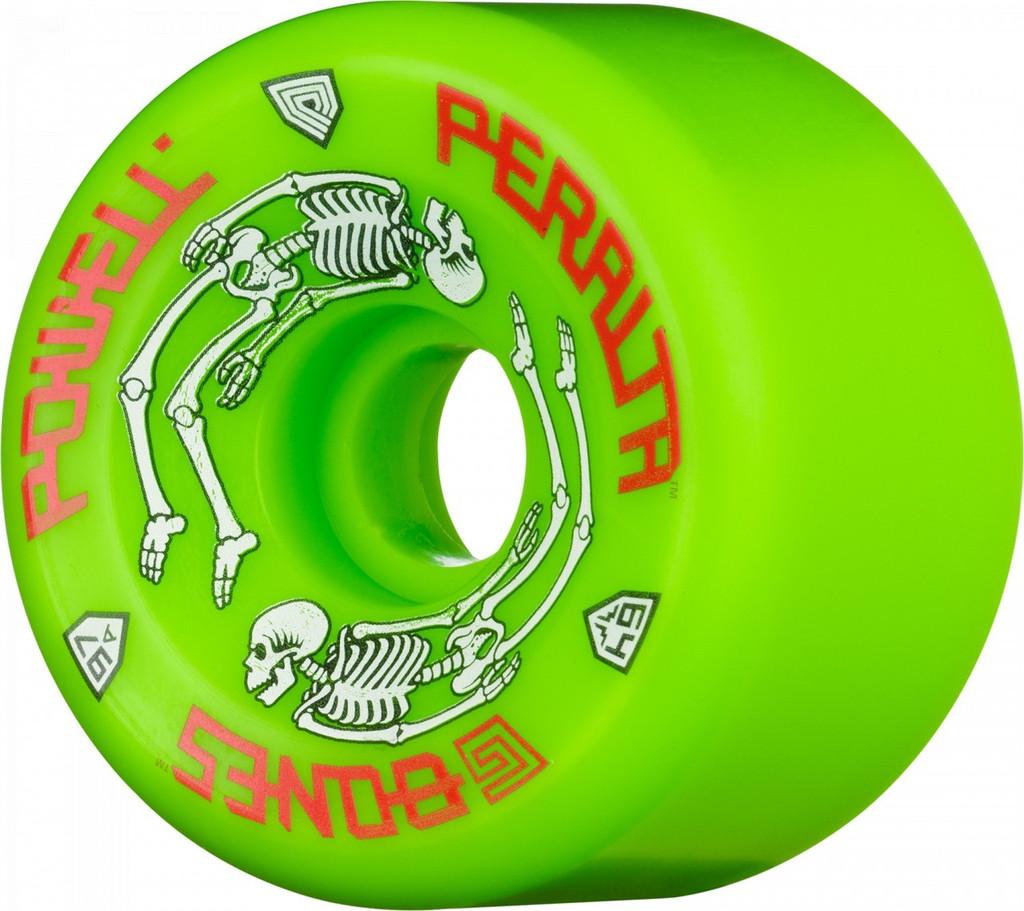Powell Peralta Green G-Bones Wheels 64mm/97a