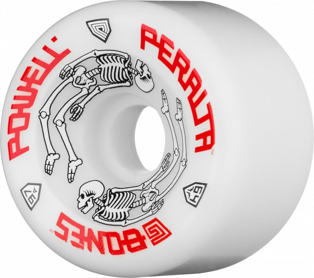 Powell Peralta White G-Bones Wheels 64mm/97a