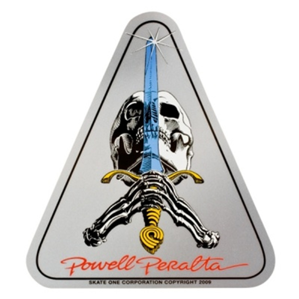 Powell Peralta Skull & Sword Reissue Sticker