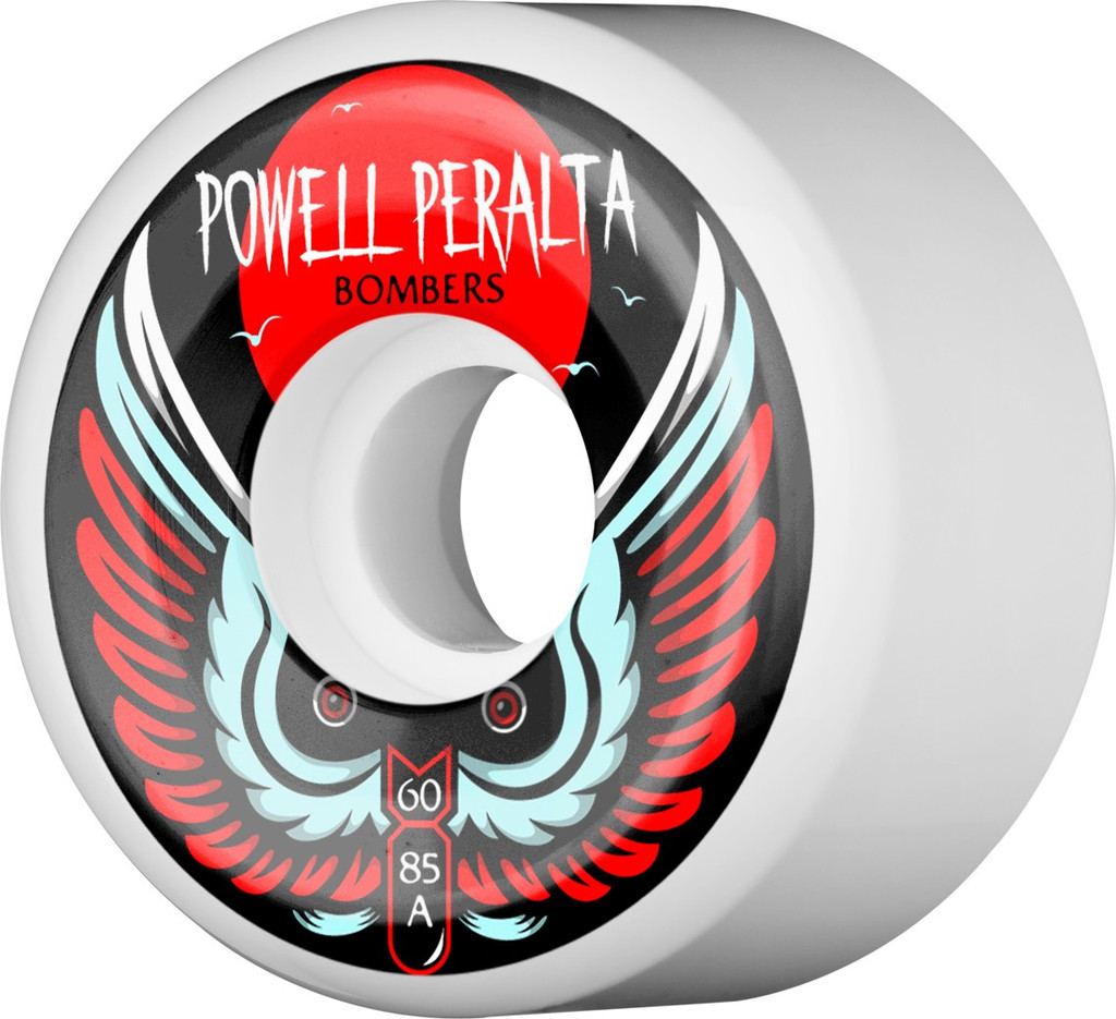 Powell Peralta White Bomber Wheels 60mm/85a
