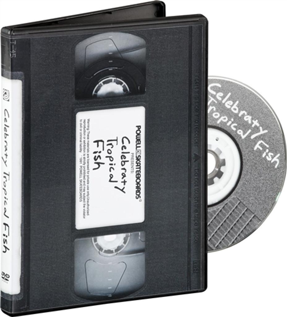 Powell Peralta Bones Brigade Video IX DVD Celebraty Tropical Fish