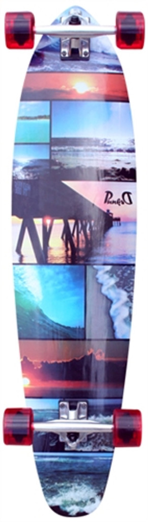 """Punked Seaside Kicktail Complete 10"""" X 40"""""""