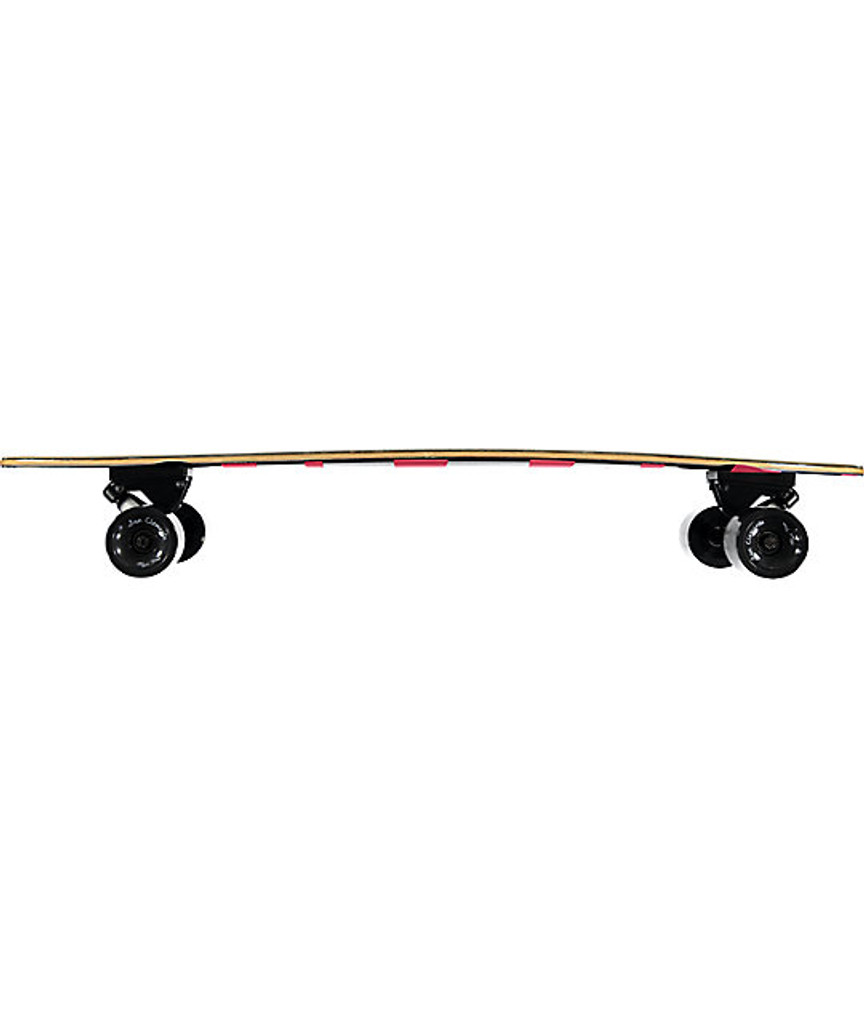 """San Clemente Pink Lady Complete Pintail Longboard 38"""" FREE USA SHIPPING"""