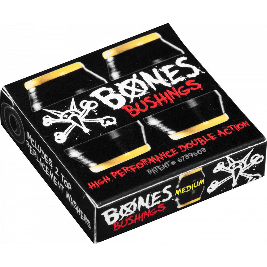 Bones Hardcore Bushings Medium Black Set