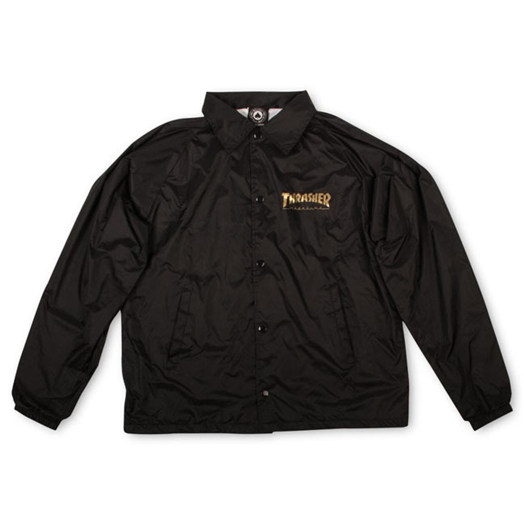 Thrasher Pentagram Windbreaker Coach Jacket