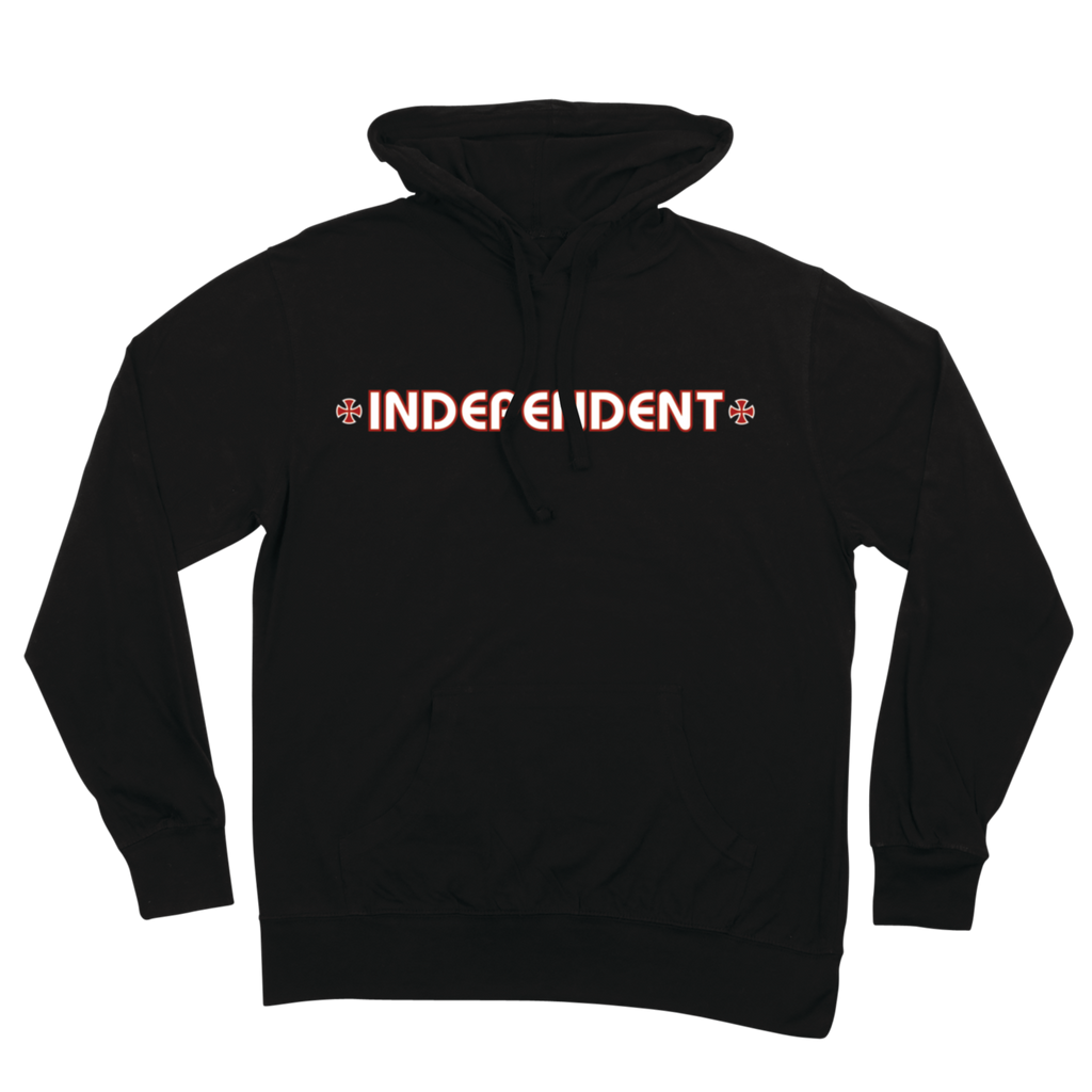 Independent Bar & Cross Pullover Hooded Sweatshirt (Black)