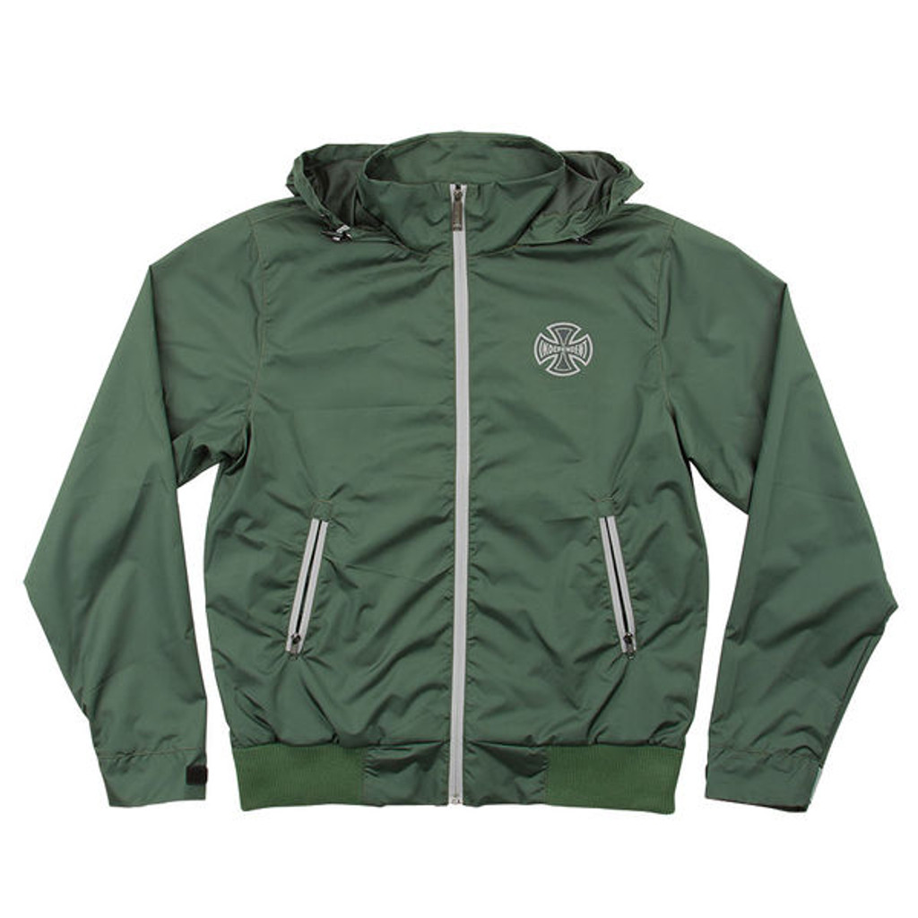 Independent Climate All Weather Hood Windbreaker Jacket