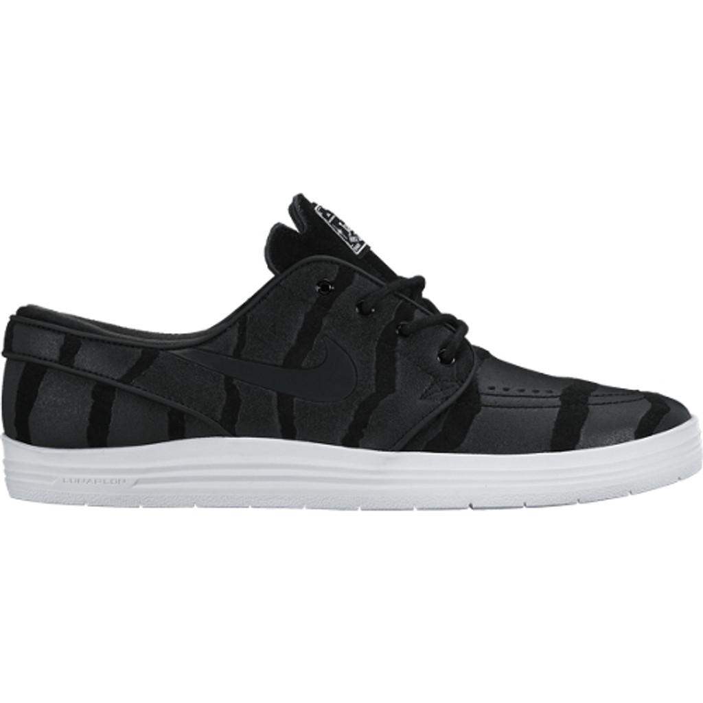 Nike SB Lunar Stefan Janoski Black/Anthracite-Pure Platinum
