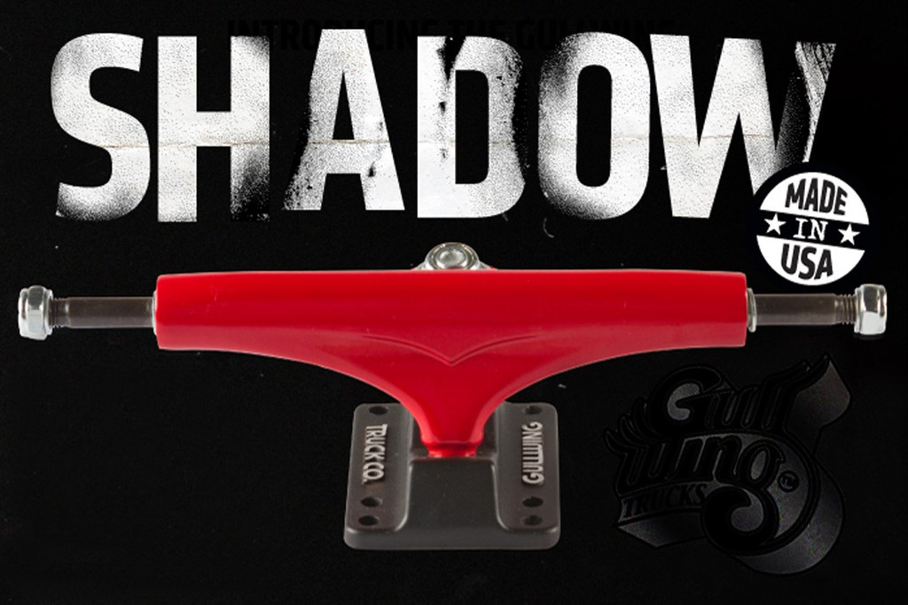 Gullwing Shadow Trucks 9.0 (161MM) RED (Set of 2)