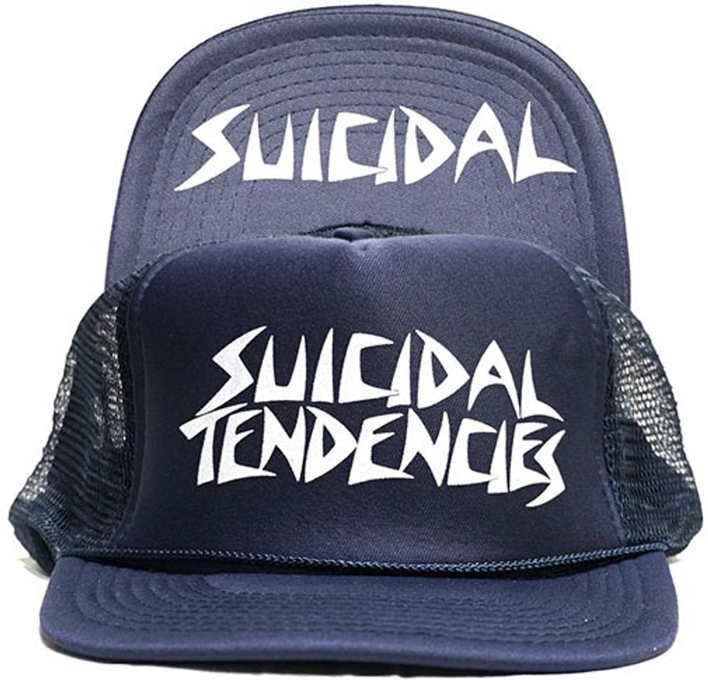Dogtown x Suicidal Tendencies Mesh OG Flip Hat (Navy Blue)