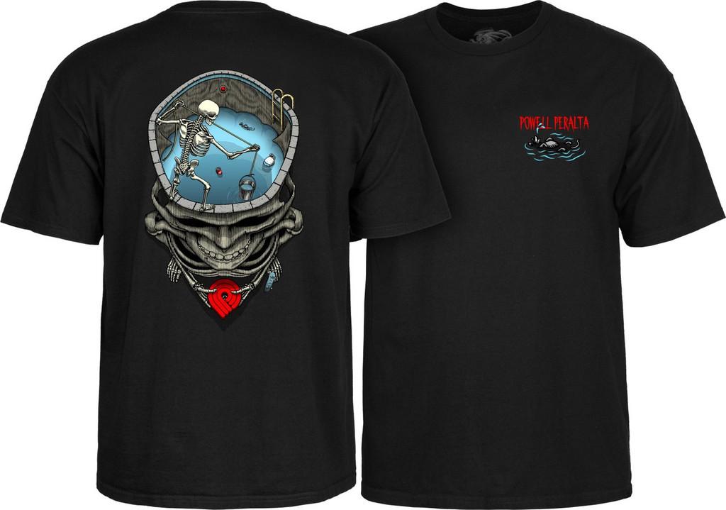 Powell Peralta Mighty Pool T-Shirt Black
