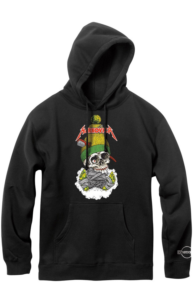 101 Markovich Skull Pulllover Hoodie Sweatshirt