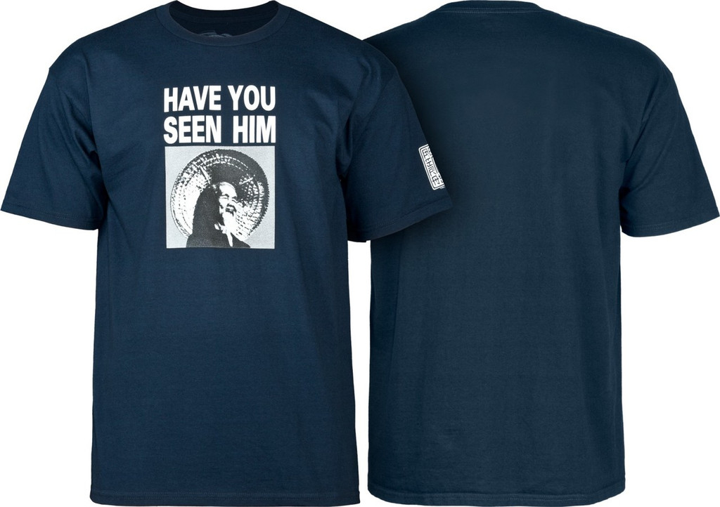 Powell Peralta Old School Animal Chin T-Shirt (Available in 4 Colors)