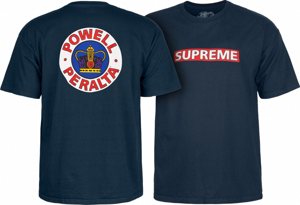 Powell Peralta Old School Supreme T-Shirt (Available in 5 Colors)