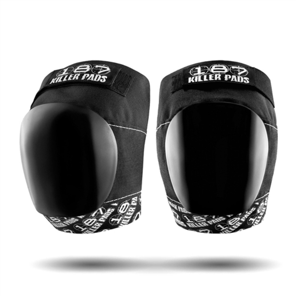 187 KILLER PADS PRO KNEE SET 187 BLACK WHITE